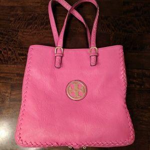 Tory Burch Pink Tote Bag